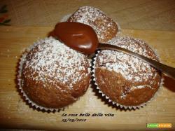 Muffin alla crema di nocciole