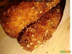 Crocchette di patate e dolce soffice al limone