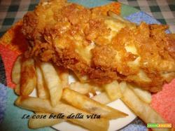 Merluzzo fritto in crosta croccante