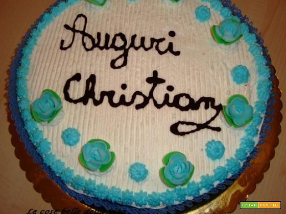 Torta della comunione di Chry