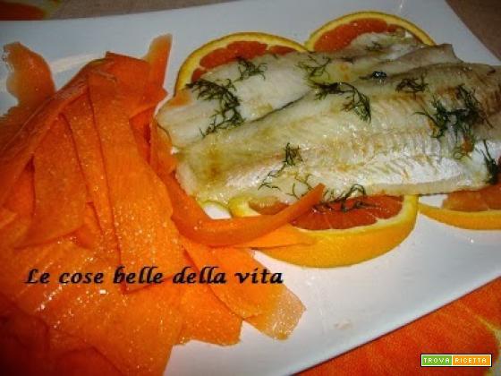 Filetti di merluzzo all'arancia