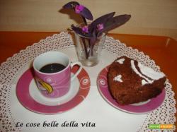 Torta morbida con albumi al cioccolato