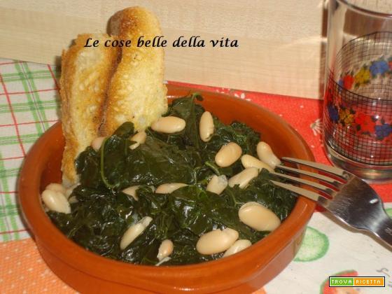 Zuppa di cavolo nero e cannellini