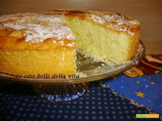 Torta soffice al limone senza glutine
