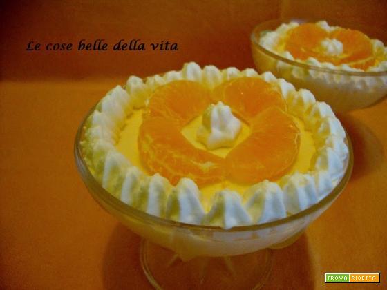 Semifreddo al mandarino