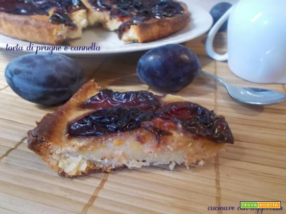 Torta di prugne e cannella – lievito madre