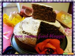 Torta Ricotta e Cioccolato Light (senza burro, uova e latte)