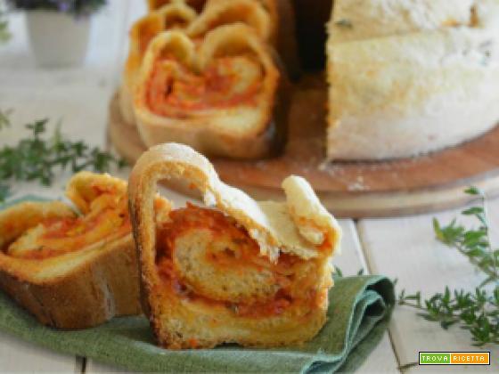 Pane al pomodoro e timo in pentola fornetto versilia
