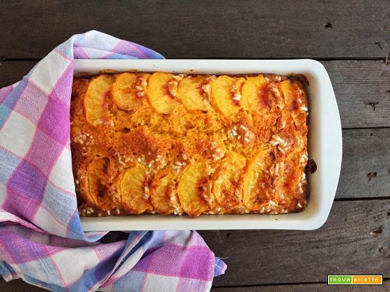 Plumcake carote e pesche