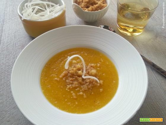 Daikon cream con noci di Macadamia
