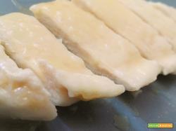 Petto di pollo scaloppato al vino e limone