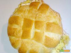 Muffuletta con frittata di patate (al microonde)