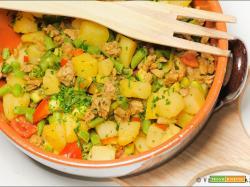 Spezzatino di soia con patate