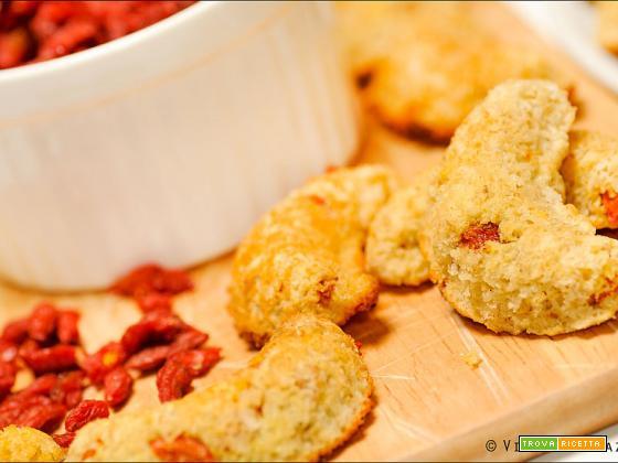 Biscotti cocco e bacche di goji
