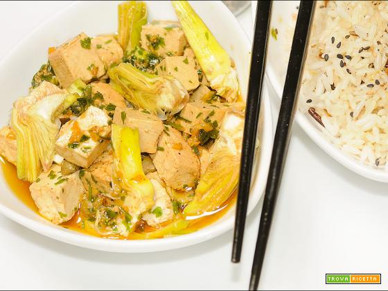 Crudaiola di tofu