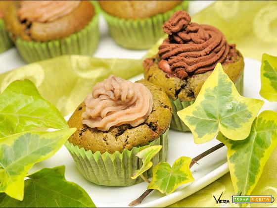 Muffin al Matcha