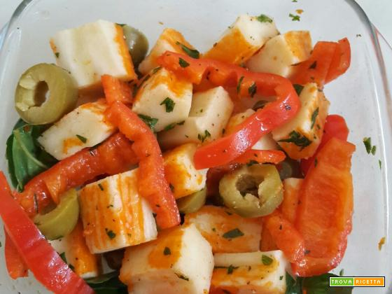 insalata di surimi – ricetta super veloce