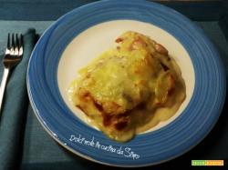 Parmigiana cremosa di patate e speck
