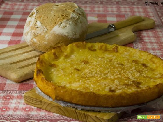 Tortino di patate e formaggio per grandi e bambini