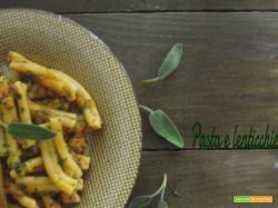 Pasta al sugo di lenticchie facile e saporito