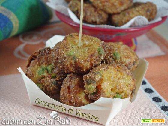 Crocchette di verdure croccanti