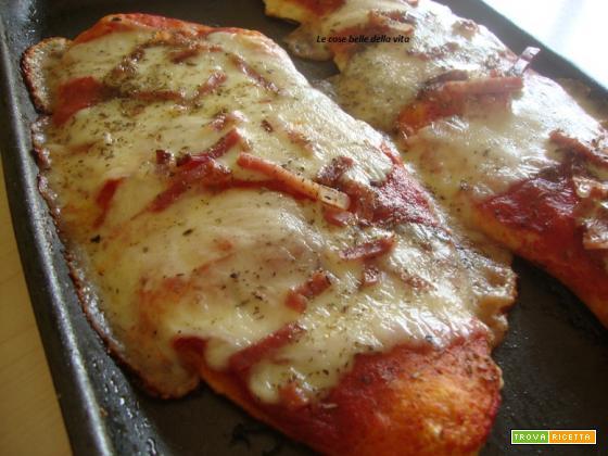 Sfilatini di pizza Margherita
