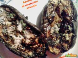 Barchette di melanzane arrostite