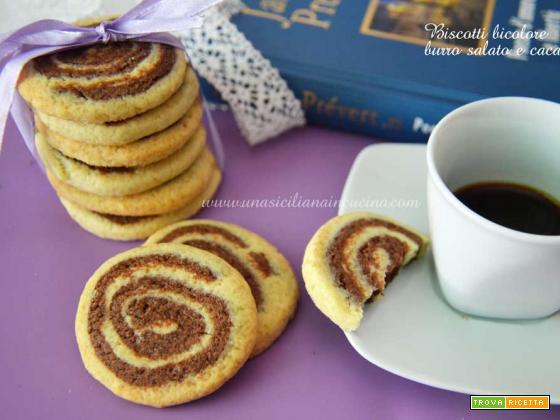 Biscotti burro salato e cacao