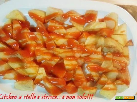 Le Patatas Bravas Spagnole di Gloria KitchenUSA