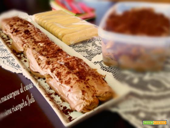 Tiramisu mascarpone al cacao