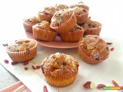 Muffin con Goji e farina di mandorle – senza burro