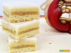 Cubetti al limone (zitronen schnitten)
