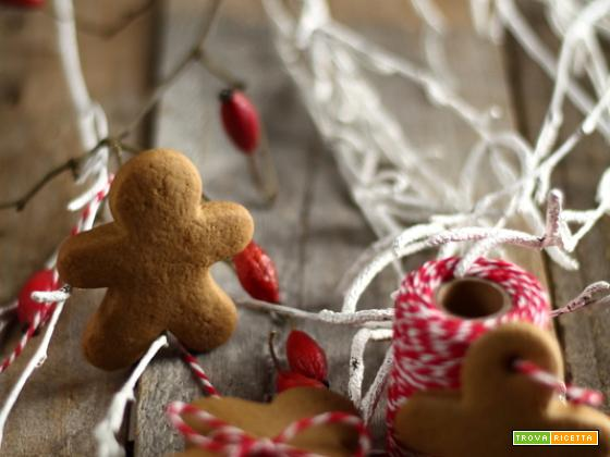 Pepparkakor:biscotti svedesi allo zenzero