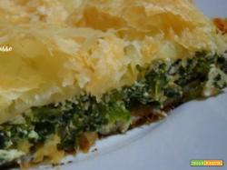 Pizza di spinaci e ricotta, facile e veloce