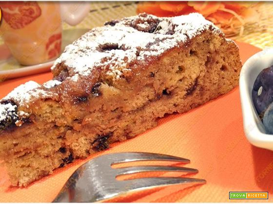 Torta ai mirtilli senza glutine | facile