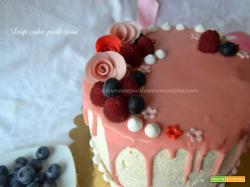 Drip Cake Pink Rosa