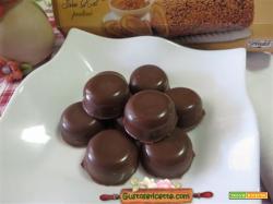Cioccolatini al caffe girella alla nocciola