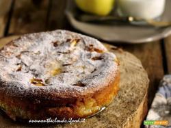 Torta di mele light – senza UOVA, LATTE e BURRO