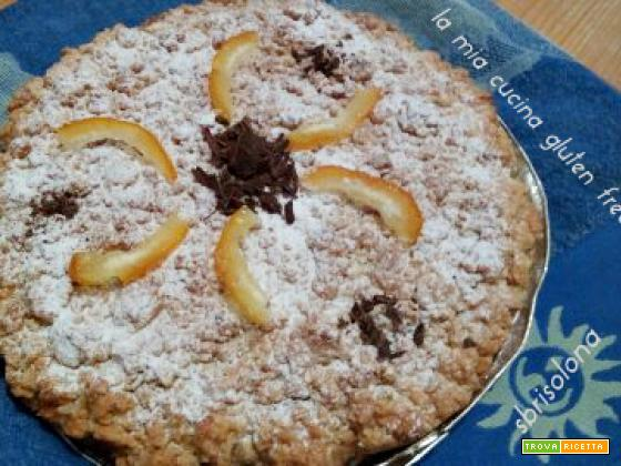 SBRISOLONA  gluten free al cioccolato e arancia candita