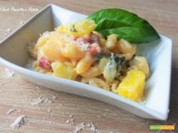 Gnocchetti Pancetta e Patate Filanti