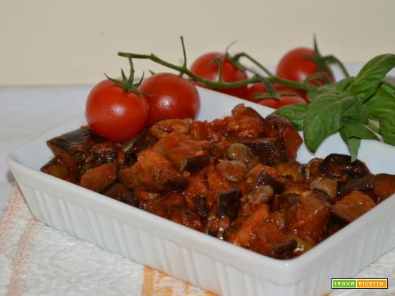 Caponata alla siciliana