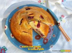 Torta con susine