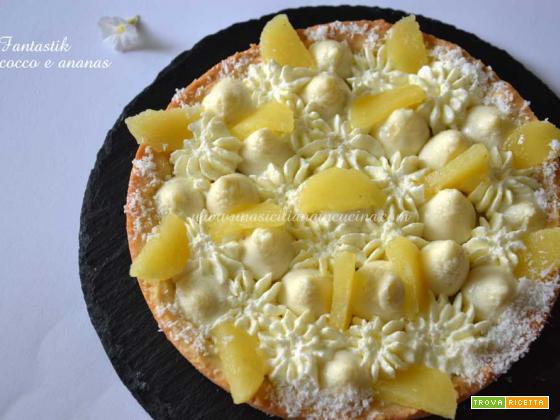Fantastik namelaka cocco e mousse ananas