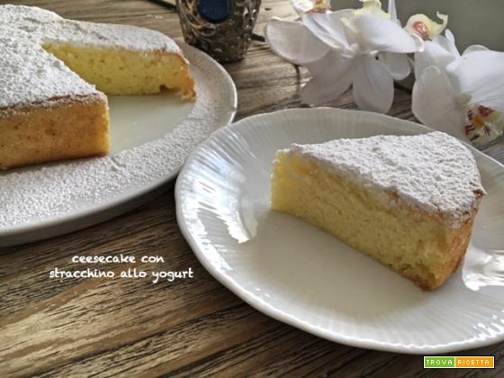 Cheesecake quasi giapponese