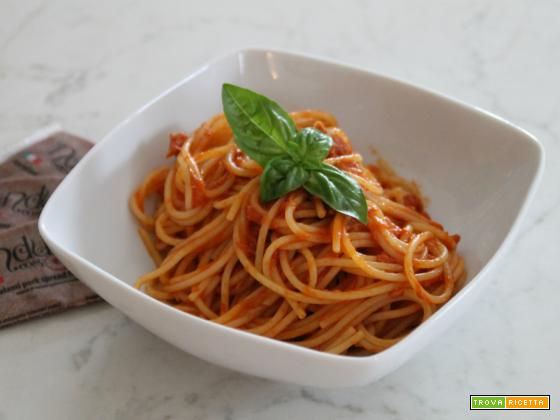 Spaghetti tonno e 'nduja