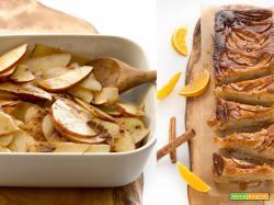 TORTA di MELE e YOGURT LIGHT senza uova senza burro senza glutine senza zucchero (vegan)
