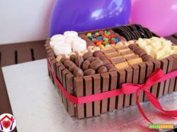 """Dolce """"scatola di cioccolatini"""""""