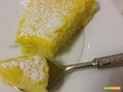 Torta Impossibile al cocco e limone – Impossible Pie