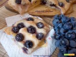 Schiacciata con l'uva – lievito madre