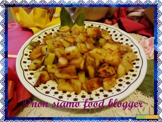 Patate croccanti in padella, ricetta facile e veloce